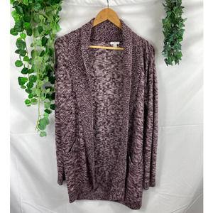 BP Nordstrom cable knit cardigan sweater